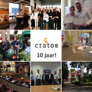 Hoera! Cratos Consulting bestaat 10 jaar!