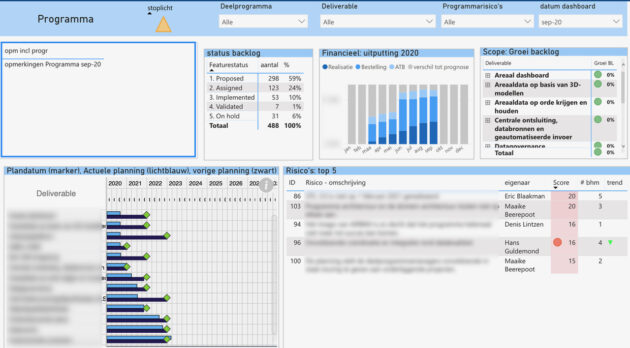 Dashboard AIRBIM - Cratos Consulting