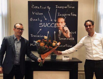 Start Denis Scholten als Senior adviseur Projectmanagement - Cratos Consulting
