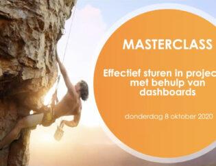 Highlights Masterclass - Effectief sturen in projecten met dashboards - Cratos Consulting.nl