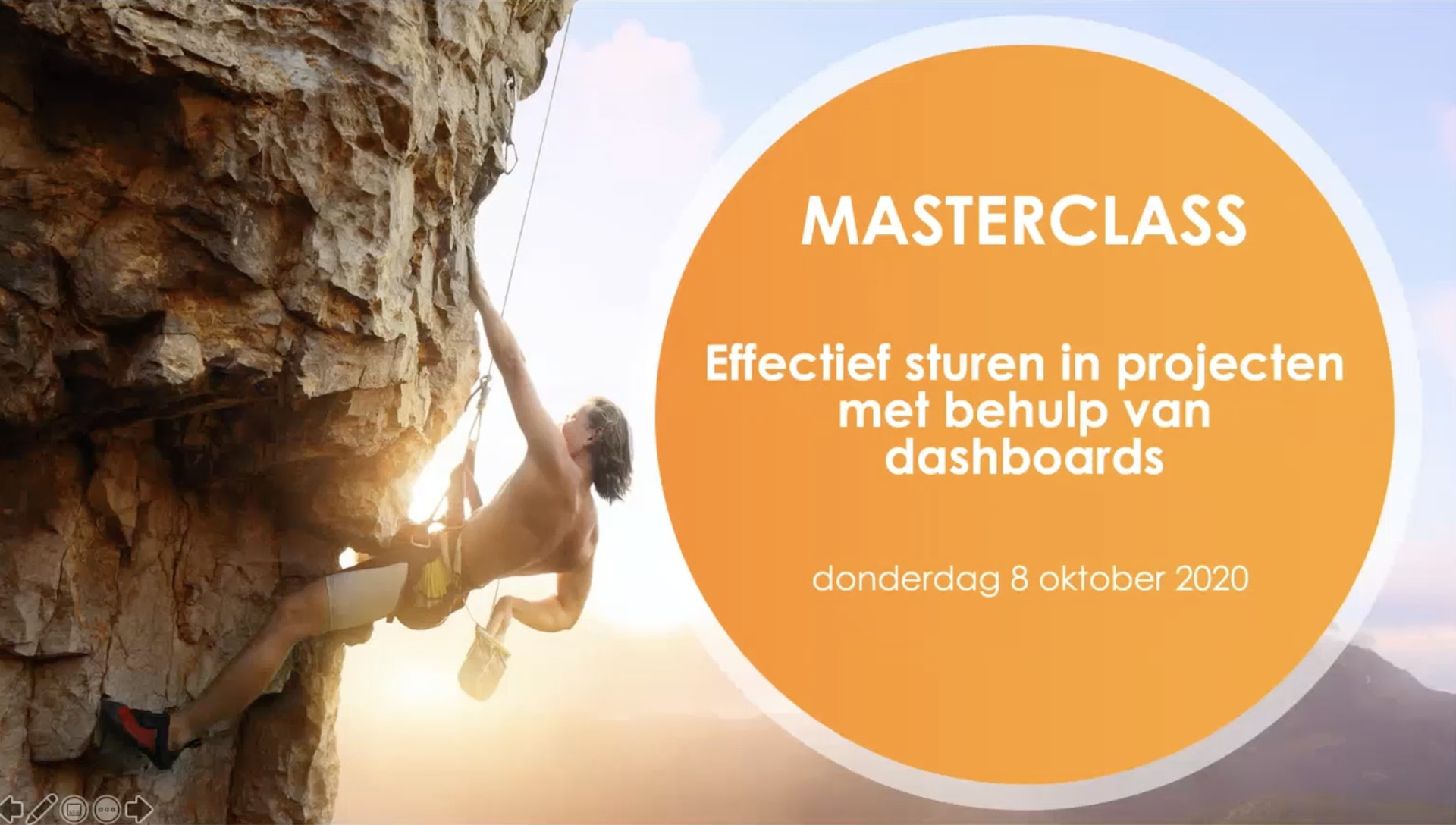 Highlights Masterclass - Effectief sturen in projecten met dashboards - Cratos Consulting.nl